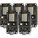AZDelivery 5 x NodeMCU Amica Modul V2 ESP8266 ESP-12F WIFI Wifi Development Board mit CP2102 inklusive E-Book!