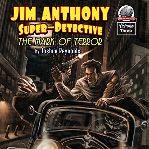 Jim Anthony: Super-Detective, Volume Three audiobook cover art