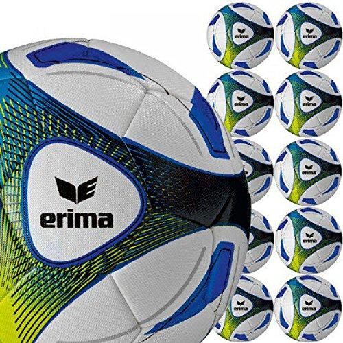 Erima HYBRID Training - 10er Set Größe 5 royal/Lime