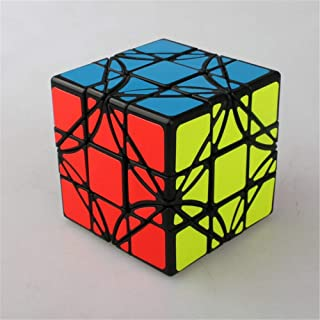 High quality Lrregular Rubik Cube Speed Twist 3x3x3 Sticker Cube Smooth Colorful Cube Puzzle Intellectual Toy, Suitable fo...