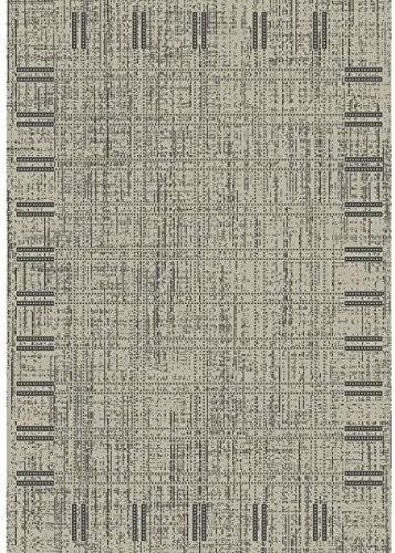 Tapis de salon Floorluxe 120x170 cm noir