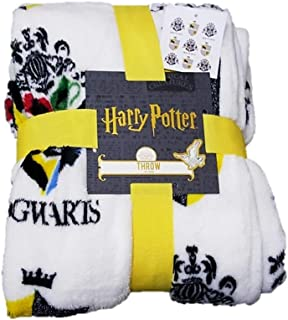 125 x 150 cm Half Moon Bay Harry Potter G FOR GRYFFINDOR Rojo/Amarillo Manta