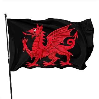 SBGFB Welsh Dragon 3x5 Feet Garden Flag