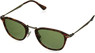 c4f472c81 Persol PO3165S 24/31 Havana PO3165S Round Sunglasses Lens Category 3 Size  50mm