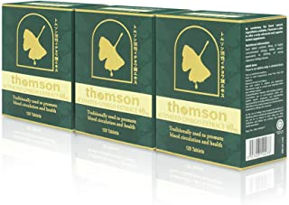 Thomson Ginkgo Biloba Activated Patented Japan Technology Ginkgo Extraction Extra Strength (Supports Mental Function, Focu...