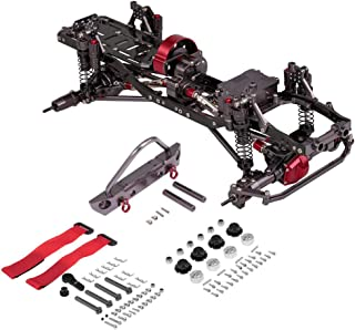 HYLH 1/10 RC Car Frame Kit CNC Aluminio RC Car Shell para AXIAL SCX10 Crawler Climbing Car DIY RC Piezas Accesorios