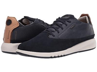 Geox Aerantis (Navy Smooth Leather) Men
