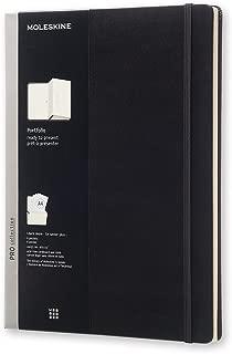 "Moleskine PRO Portfolio, Hard Cover, A4 (8.25"" x 11.75"") Black"