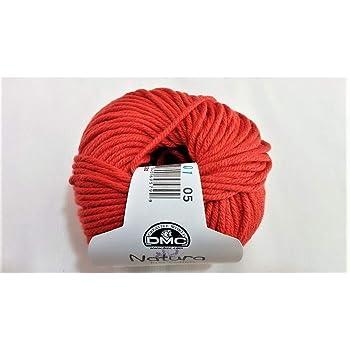 De algodón para tejer crochet natura just cotton medio dmc 50 gramos - Corallo: Amazon.es: Hogar