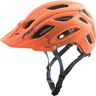Fly Racing Unisex-Adult Full-face-Helmet-Style Freestone (Matte Orange/Blue, Medium/Large)