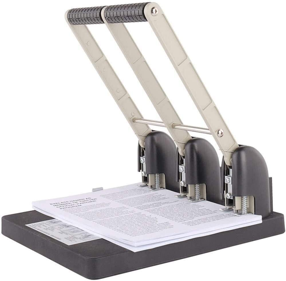 Paper Trimmer Max 68% OFF Cutter Guillotine Manufacturer OFFicial shop Three-Hole P Durable