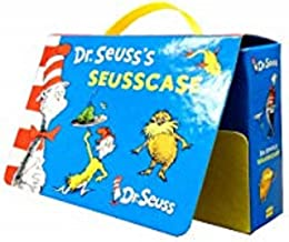 Dr Seuss Travel Case Collection With 10 Reading Books Set Pack