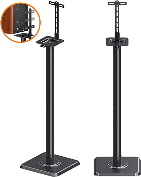 Mounting Dream Speaker Stands Bookshelf Speaker Stands For Universal Satellite Speakers Set Of 2 For Bose Polk JBL Sony Yamaha And Others 11 Lbs Capacity