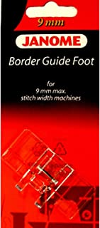 Border Guide Foot #202084000 For Janome 9mm Max Stitch Width Machines