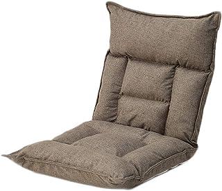 TXXM Lazy Divano per il tempo libero pieghevole singolo schienale reclinabile dormitorio camera letto computer sedia (colo...