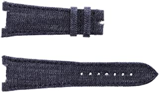 Patek Philippe Nautilus Style Watch Strap 25mm in Japanese Kurabo Denim