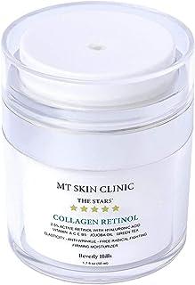 Sponsored Ad - MT Skin Clinic - Organic Collagen Retinol Face & Neck & Eye Cream - Day & Night Moisturizer - Unisex Skinca...