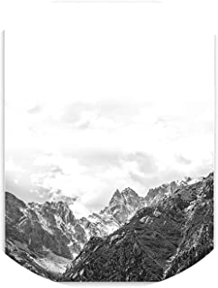lovehouse21 900D Nordic Style Posters and Prints Mountain Canvas Art Painting Poster, Wall Pictures for Home Decoration, Wall Decor Bw002,28X36Cm No Frame,Mountain
