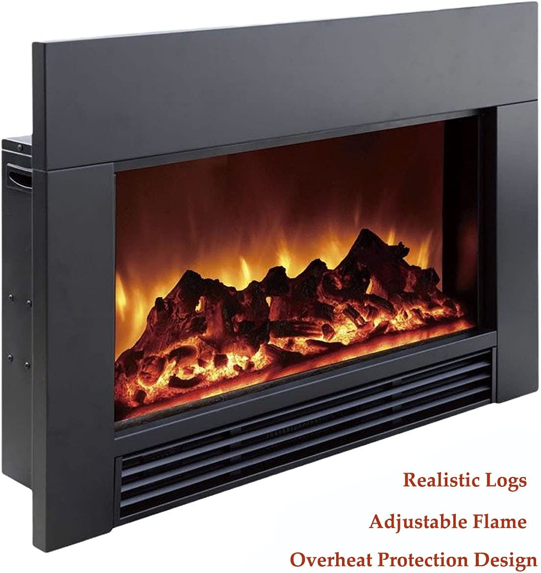 Buy ZopaFlame Electric Fireplace,Wall Mounted Fireplace,20 Inches ...