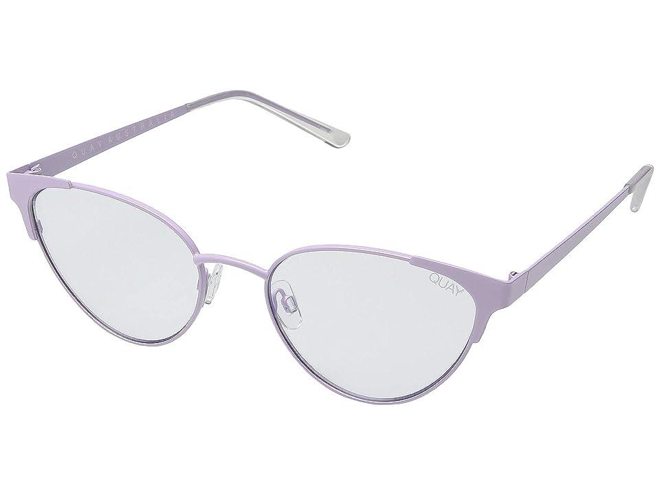 QUAY AUSTRALIA Song Bird (Lilac/Clear Blue Light) Fashion Sunglasses