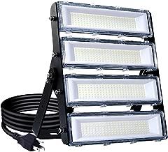 200W LED Flood Light Outdoor, 18000lm 6000K Super Bright Yard Security Lights IP66 Waterproof Outdoor Work Lights Daylight White,OSRAM LED Chips, Adjustable Heads, Great for Garden,Street, Parking Lot