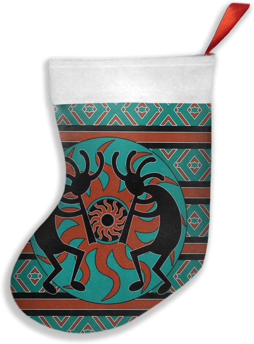 Bcqjnb Kokopelli Personalized Christmas Socks For Family Holiday Xmas Party Decorations Home Kitchen