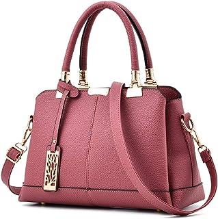 NICOLE & DORIS Damen rucksack Leder Rucksack für College Casual Schultertasche Damen Handtaschen
