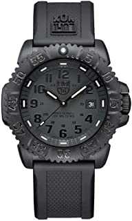 Men's 3051.BO Navy Seal Colormark 3050 Series, Quartz Movement With Rubber Band, Black Watch