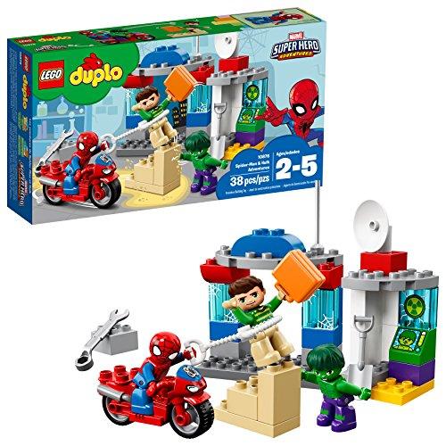 LEGO Duplo Superhelden Spider Man & Hulk Abenteuer 10876 Baukastens (38 Stück)
