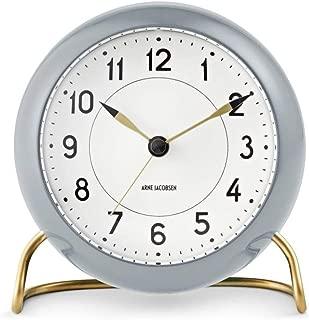Arne Jacobsen Gray Alarm Clock