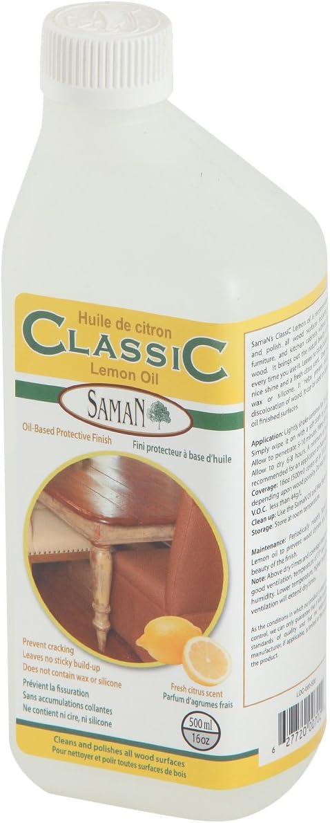 Super popular specialty store Saman LOC-000-500 Rare Protective Lemon Oil