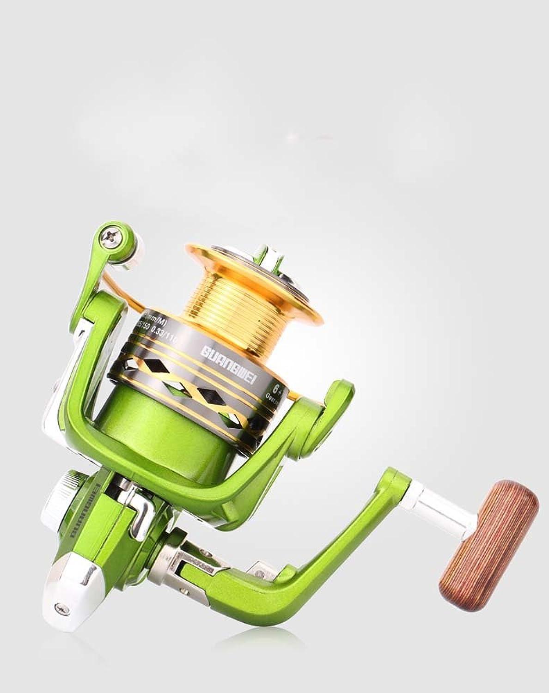 Alle Metall Kpfe 6 + 1 Achse Rotary Reel Reel Angeln Aus Dem Rad Sea Rod, 5000-Serie