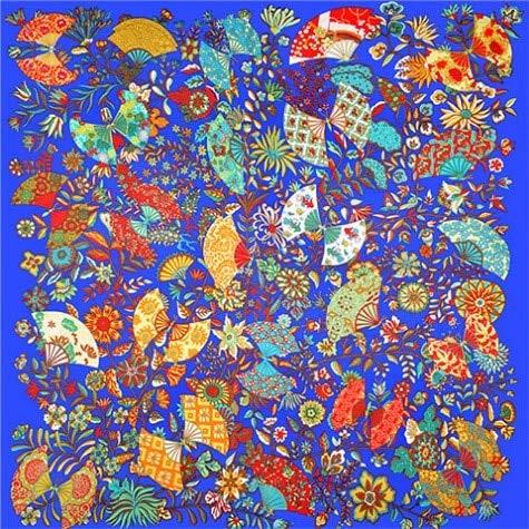 YDMZMS sjaal van zijde, 100% voor dames, grote sjaaltjes met opdruk van Marca Bandana sjaal, halsdoek voor dames, 130 x 130 cm, 18-28