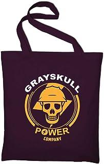 Styletex23 Grayskull Power Company Fun Motu Jutebeutel Baumwolltasche