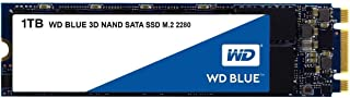 Western Digital WDS100T2B0B M.2 1TB SSD Blue, 3D NAND, Read 560MB/s, Write 530MB/s, 179K IOPS, 5 Years Warranty