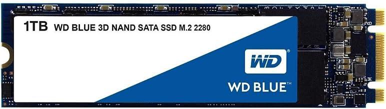 Western Digital 1TB WD Blue 3D NAND Internal PC SSD - SATA III 6 Gb/s, M.2 2280, Up to 560 MB/s - WDS100T2B0B