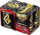 Fire(ファイア) ブラック(185g*6本)