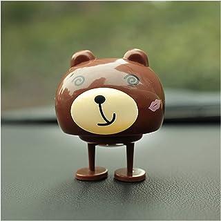 Car Decoration Cute Decoration Nodding Bear Car Ornaments Automobiles Dashboard Swinging Shaking Head Cat Doll Dancing Toy...