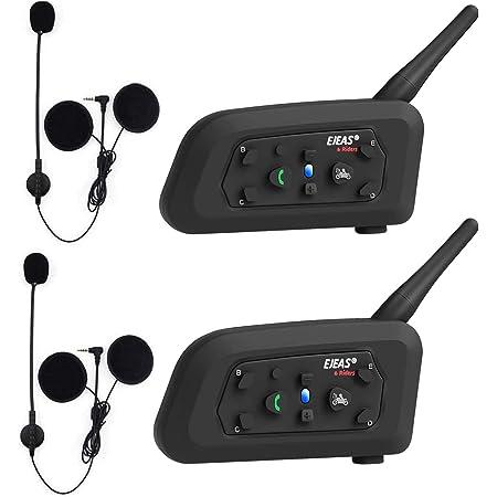 Okeu V6 Pro 1200 Meter Vollduplex Bluetooth Intercom Elektronik