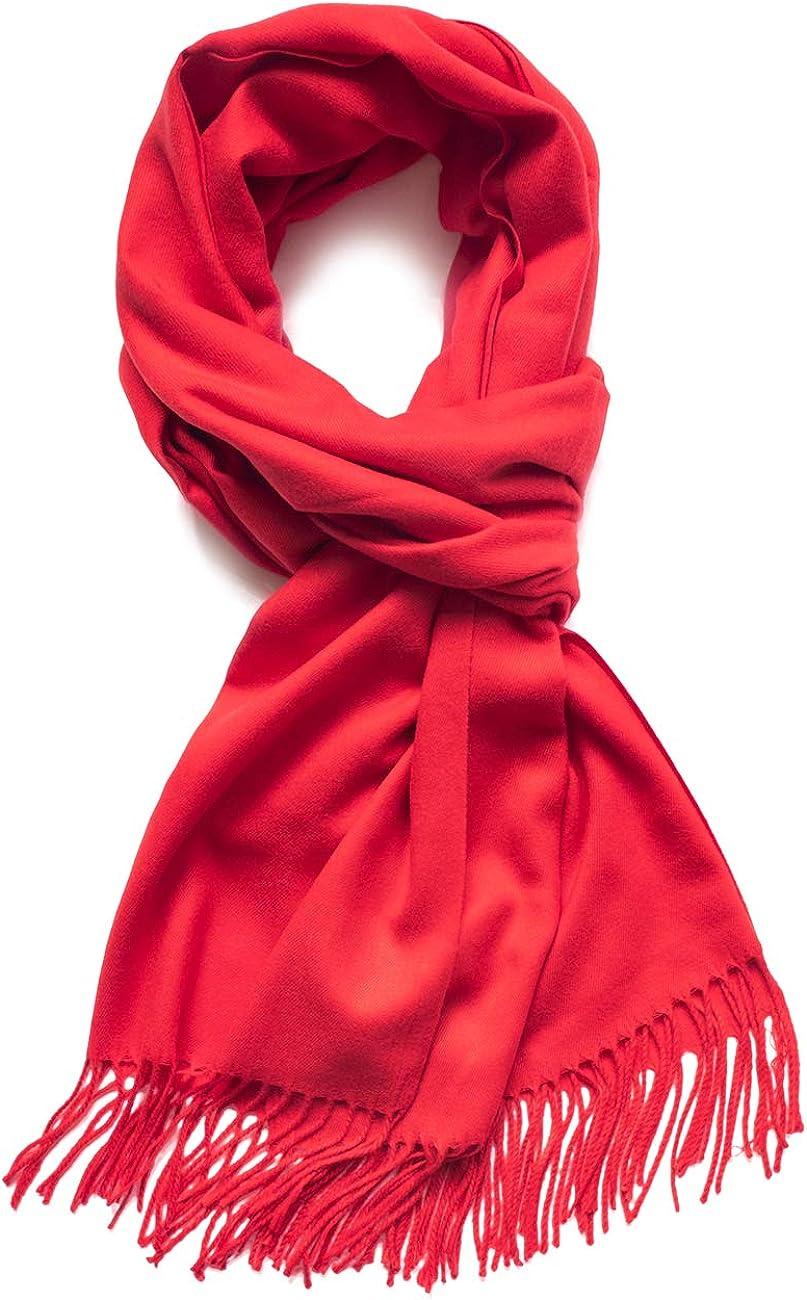 Dahlia Women's Winter Scarf, Shawl Synthetic Cashmere, Long, Soft & Warm