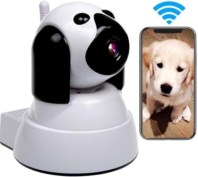 Dog IP Camera,WiFi Pet Monitor,Wireless Security Camera,720p Hd Cat Surveilance,Pan tilt Motion Detection Night Vision TwoWay Audio