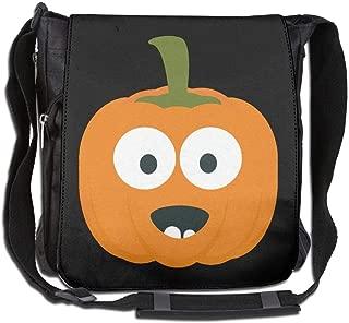 Eden Edies Happy Halloween Pumpkin Unisex Crossbody Bag Messenger Shoulder Sling Postman Bags