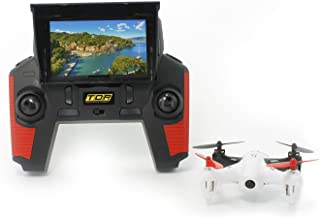 """Tenergy TDR Robin 5.8G FPV with Built-in 4.3"""" LCD and Pop-up Sunshade 2MP 720P HD Camera and 4G MicroSD RC Drone Quadcopter RTF"""
