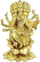 Gayatri Devi Idol in Brass / Gayatri Devi Statue / Hindu Religion God Sculpture