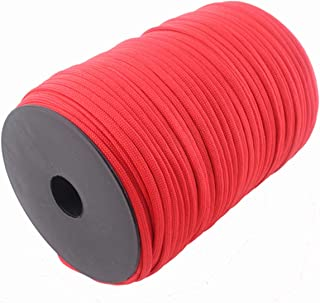 100M Spools Paracord 550 Rope Parachute Cord Lanyard 7 Strand Outdoor Camping Survival Emergency Equipment Paracord