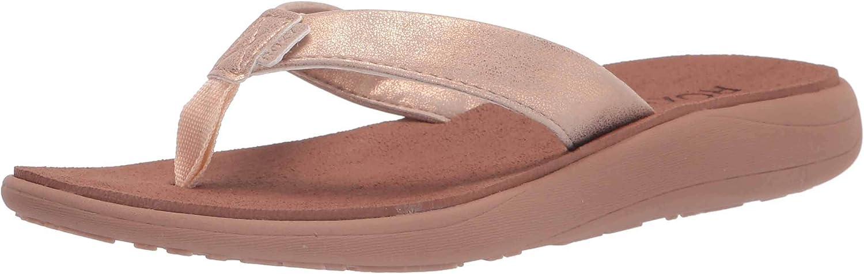 Roxy Women's Lizzie Max 43% OFF shop Sandal Comfort
