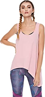 Bodytalk Fitness Tank Top for Women - Pink L