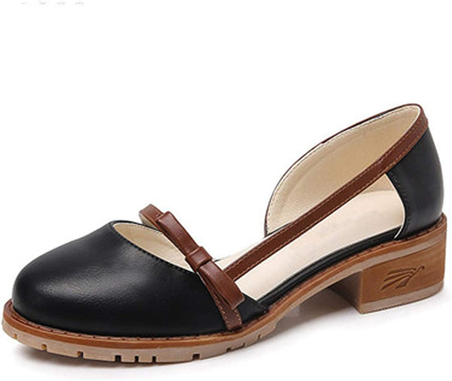 Fashion High Heels Butterfly-Knot shoes Slides Slip On Solid Lady Casual Plus Size Sandals 34-43