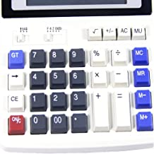 $35 » 1pc General-Purpose Multi-Function Big Button Office Calculator 12-Digit Digital Display Business Calculator Suitable for ...