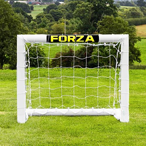 FORZA Fußballtore – die komplette Reihe – Tore mit einem Sperrsystem, Match Tore und Steel42 Tore (0,9m x 0,75m Tor mit Sperrsystem)